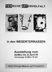 Plakat Weserterrassen